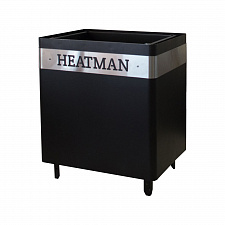 Электрокаменка Heatman Cube Black 4 кВт / 220